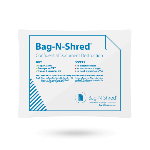 Get a Bag-N-Shred satchel